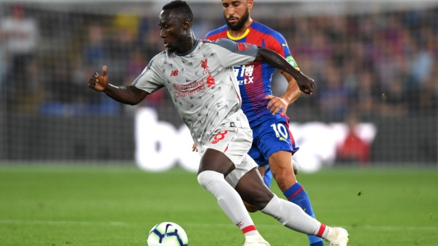 Naby Keita in action against Crystal Palace (Getty Images)