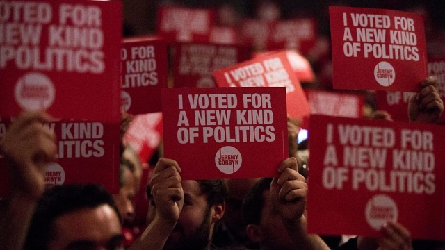 Momentum gave Jeremy Corbyn huge backing in his leadership election