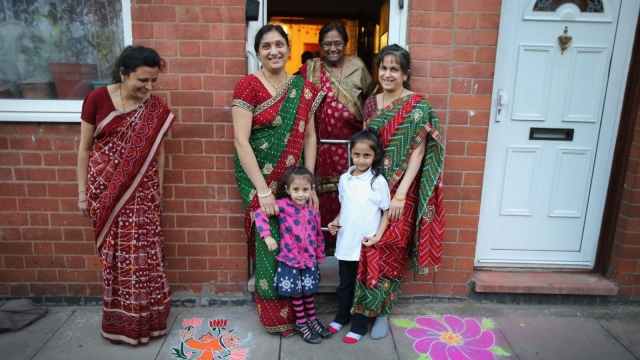 A new survey has found that British Asians are socially conservative on a number of cultural issues. (Photo by Christopher Furlong/Getty Images)