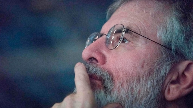 Article thumbnail: Gerry Adams is bringing out a cookbook (Photo: Getty)
