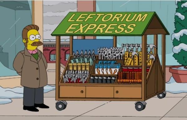 Ned Flanders Left Handed