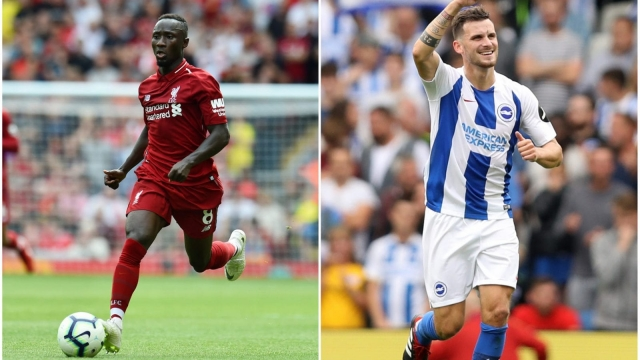 Liverpool will face Brighton in the third weekend of the Premier League. (Getty Images)