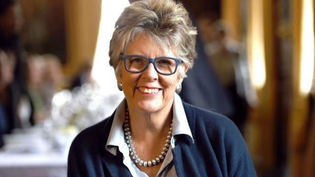 Prue Leith of the Great British Bake Off has spoken out against packed school lunches. (PA Wire)