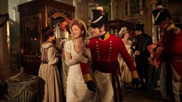 Vanity Fair How Faithful Is Itv S Period Drama To The Classic Book