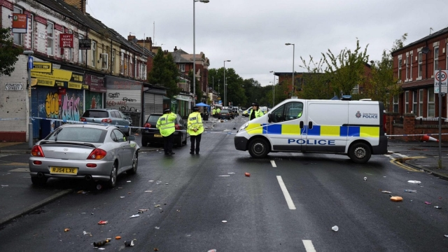 Police were called to Claremont Road on 2.30am on Sunday and discovered several people had been injured (Photo: Getty)
