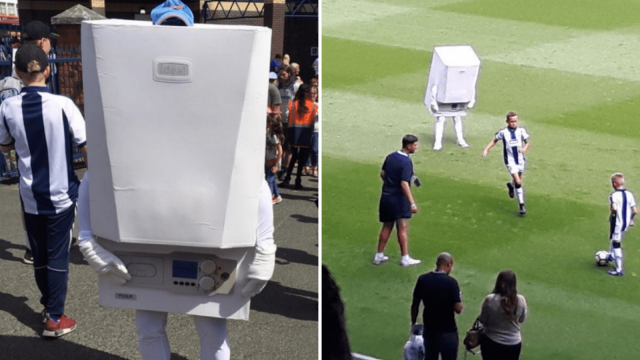 Colin the Combi is West Bromwich Albion's new mascot