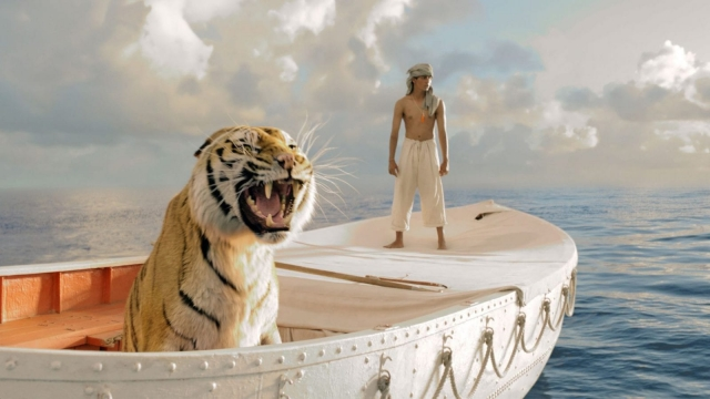 A still from Life Of Pi one of the British films financed in part by tax structures