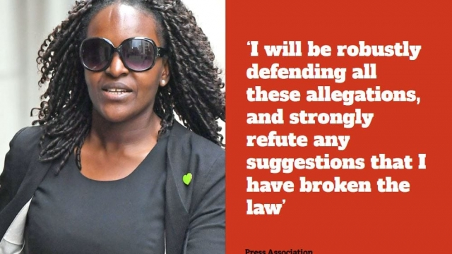 Fiona Onasanya and her brother appeared in court and were alleged to have lied to officials (Photo: PA)