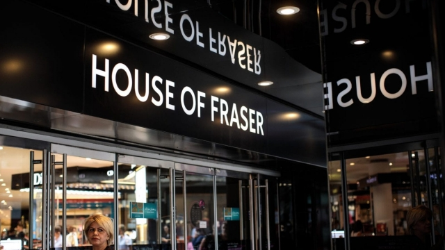 House of Fraser is rumoured to be in discussions with buyers to rescue parts of the company (Getty)