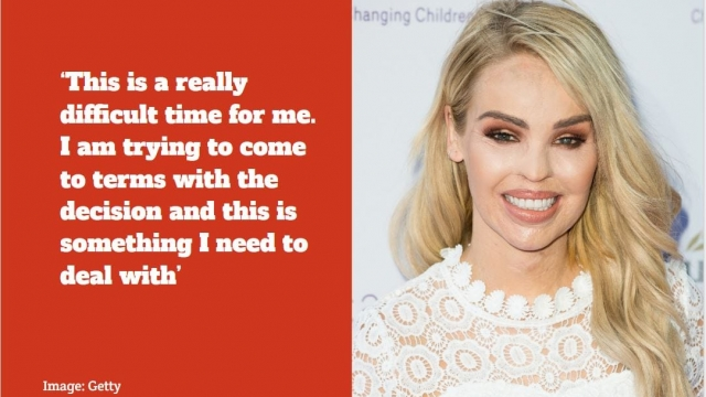 Katie Piper's acid attacker will be released from prison. (Getty)