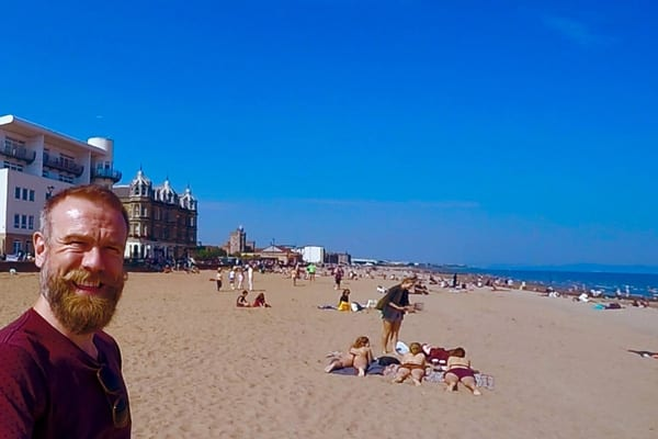 Olaf Falafel on Portobello beach: 'like Spain but with whisky flavoured ice cream'