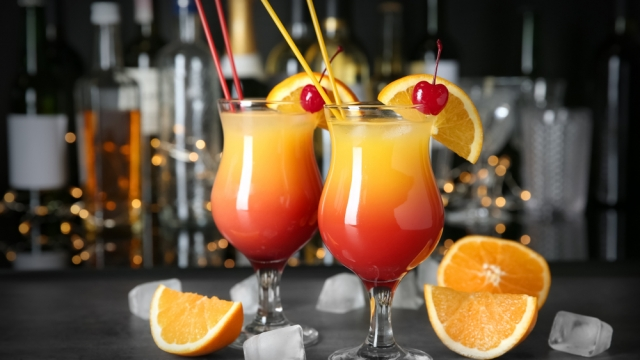 Sex on the beach and other popular cocktails have been highlighted (Shutterstock)