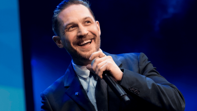 Article thumbnail: Tom Hardy says he wants to spend more time behind the camera in future