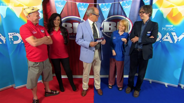 Bez from the Happy Mondays inadvertently derailed a special episode of Bargain Hunt, requiring a reshoot (BBC/iPlayer)