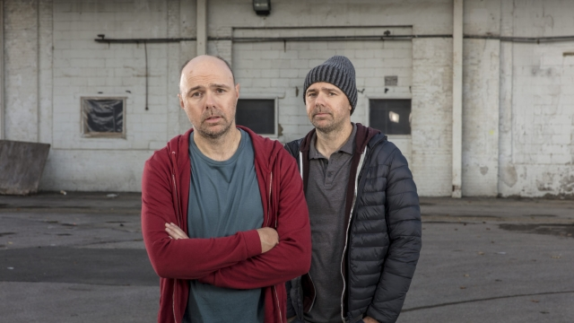 Karl Pilkington stars as a depressed cab driver in Sick of It