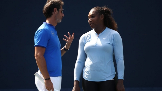 Mouratoglou admitted trying to coach Williams during her US Open final defeat (Getty Images)