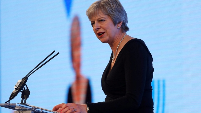 Britain's Prime Minister Theresa May will appeal to EU leaders directly on Wednesday seeking a compromise especially on the Irish border (AFP/Getty Images)