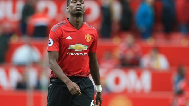 Paul Pogba provided the assist for Manchester United's opening goal on Saturday but could do nothing to stop Wolves grabbing a point (Getty Images)