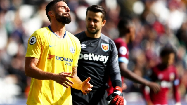 Chelsea were frustrated by a compact and determined West Ham at the London Stadium (Getty Images)