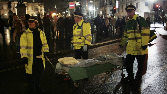 On Thursday, the Assaults on Emergency Workers (Offences) Bill received Royal Assent and became law. (Photo by MJ Kim/Getty Images)