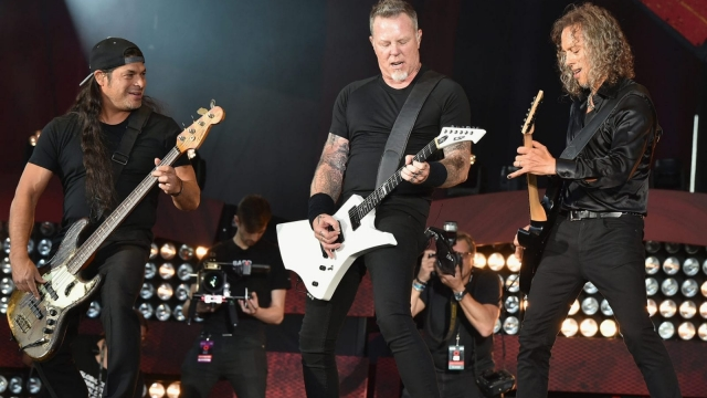 Metallica have announced a huge European tour. (Photo by Theo Wargo/Getty Images for Global Citizen)