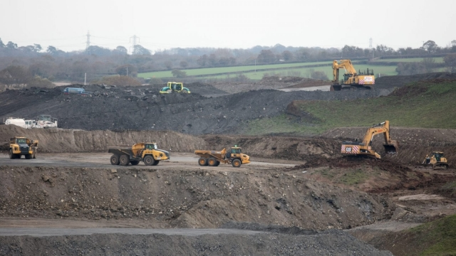 Article thumbnail: Construction at Hinkley Point C nuclear power station. As of 2016, China General Nuclear Power Group and China National Nuclear Corporation were considering Bradwell for the site of a new nuclear power station in the UK (Getty Images)
