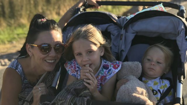 Indie Montgomery's family have made two trips to Holland – where medicinal cannabis is legal – since July to bring back supplies of medicinal cannabis to help her uncontrollable fits (Photo: Tannine Montgomery)