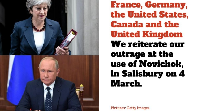 Statement from the United Kingdom, France, German, the United States and Canada on the Salisbury Novichok attack