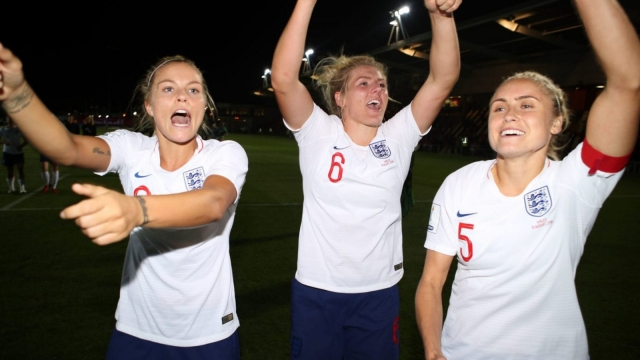 England secured their place at next summer's World Cup with a 3-0 victory over Wales last week (PA)