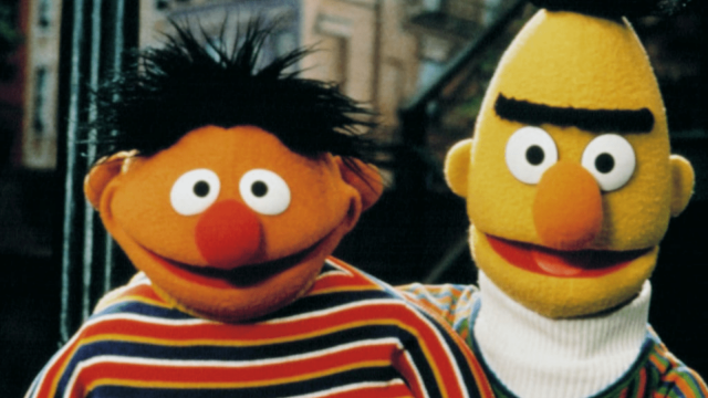 Article thumbnail: Bert and Ernie - gay couple or just friends?