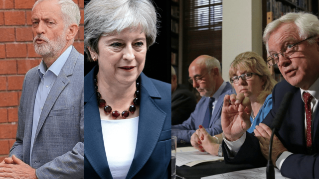 Theresa May has a numbers problem. As things stand, it's near impossible to see how the Prime Minister can get her Chequers Brexit proposal through Parliament even if she can get the EU to agree to it. So, how could she get the withdrawal agreement through the House of Commons? (Getty)
