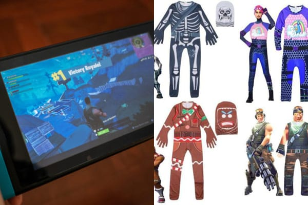 Fortnite is played by millions across the world - and now there are costumes in time for Halloween