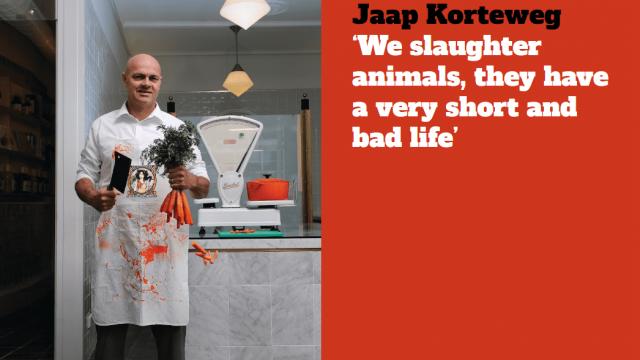 Jaap Korteweg launched the Vegetarian Butcher in 2010 (The Vegetarian Butcher)
