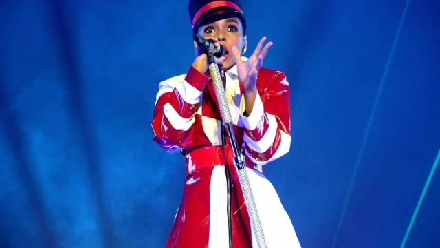 Janelle Monae performs at the Greek Theatre on June 28, 2018 in Los Angeles, California. (Photo by Kevin Winter/Getty Images)