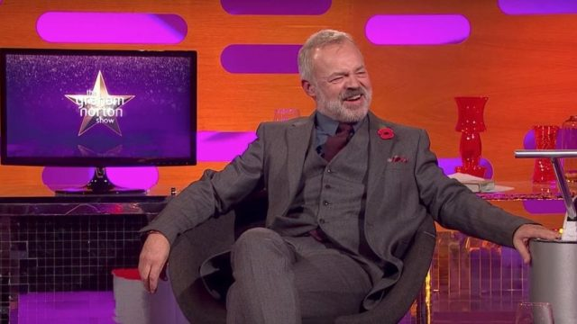 Graham Norton on his own show (Photo: BBC)