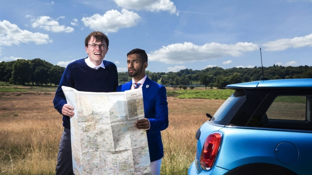 Eric Monkman and Bobby Seagull, who rose to fame on University Challenge, have a new BBC TV show (BBC)