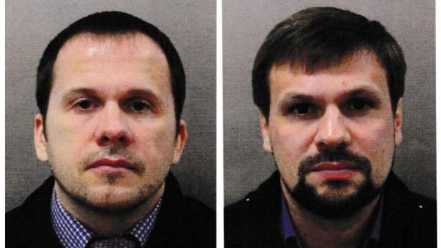 'Ruslan Boshirov' (right), one of the two men accused on the Salisbury poisonings, has been named as Colonel Anatoliy Chepiga (Photo: Getty)