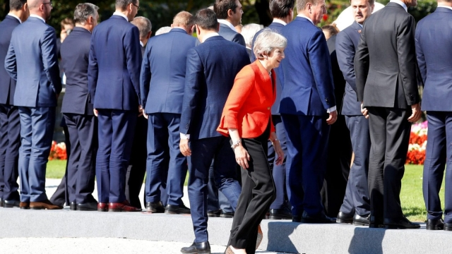 Theresa May has called on the EU to provide counter proposals to her Chequers plan (Reuters)