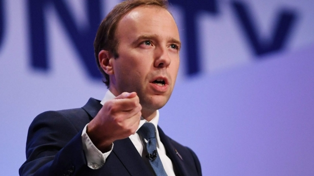 Matt Hancock, the Health Secretary (Photo: Getty)
