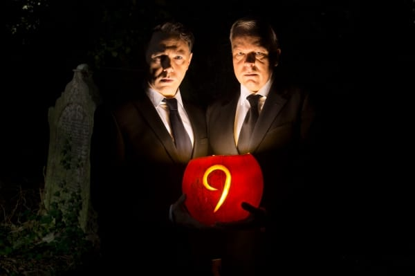 Article thumbnail: Reese Shearsmith and Steve Pemberton in a publicity shot for this weekend's special Halloween live episode 'Dead Line' (Photo: BBC)
