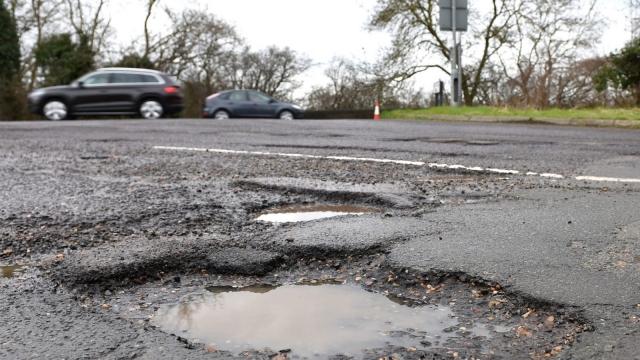 Potholes compensation