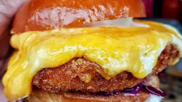 A parmo sandwich. Photo: Parmstar