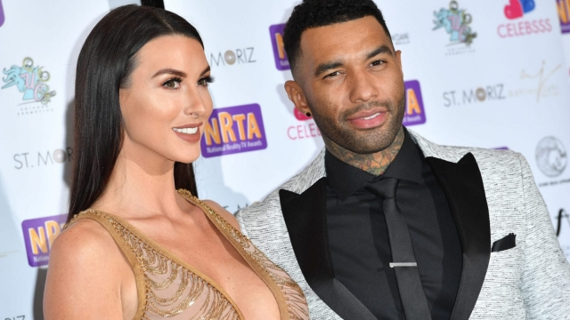 Jermaine Pennant and wife Alice Goodwin (Photo: Jeff Spicer/Getty Images)