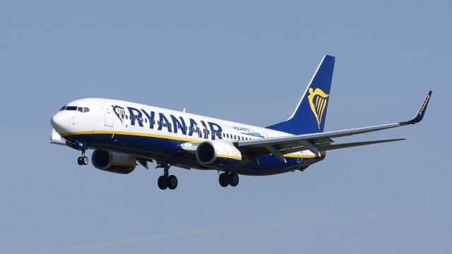 Ryanair profits fall