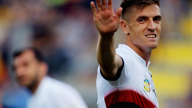 Krzysztof Piątek cannot stop scoring for fun at Genoa (Getty Images)