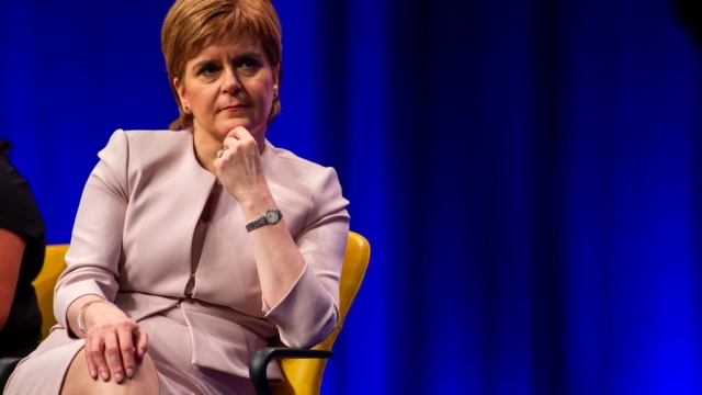Nicola Sturgeon is due to address the SNP conference in Glasgow tomorrow (Photo: Getty)