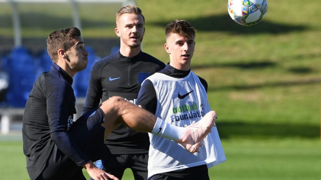 Youthful infusion: seven of the current England squad are 21 or under (Getty Images)