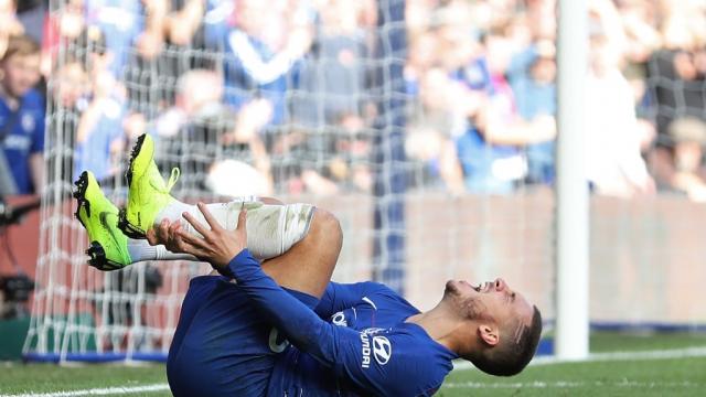 Eden Hazard picked up an injury against Manchester United in Gameweek 9