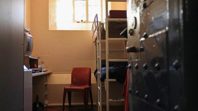 GLASGOW, SCOTLAND : A general view of a cell in B Hall at HMP Barlinnie on November 22, 2011. (Photo by Jeff J Mitchell/Getty Images)