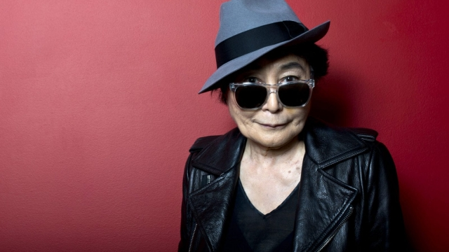 Yoko Ono will launch the Manchester International Festival. (Photo by Ben A. Pruchnie/Getty Images)